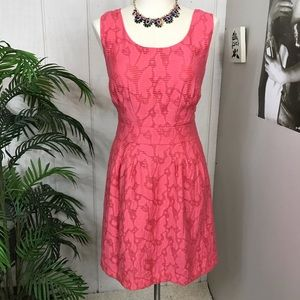 Banana Republic coral dress size 6